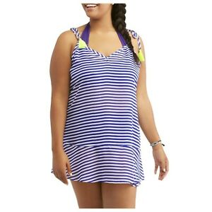 0a8ba5270088f No Boundaries Cover Up Juniors Plus Size 1X Tunic Swimsuit Beach ...