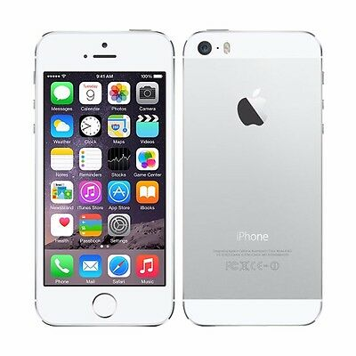 Original  Apple iPhone 5S Mobile SmartPhone GSM Factory Unlocked 16GB White