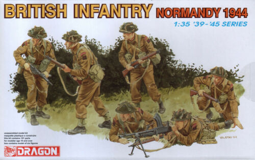 NEW 1:35 Dragon Models 6212  WWII British Infantry Normandy 1944