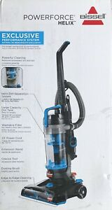 Bissell Powerforce Helix 2191 Blue Upright Vacuum Cleaner Ebay