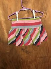 Gymboree Smart And Sweet Striped Skirt Size 3