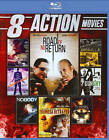 8 Action Movies (Blu-ray Disc, 2014, 2-Disc Set)