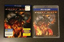 GHOST RIDER SPIRIT OF VENGEANCE 3D Blu-Ray SlipCover Best Buy Exclusive New Rare