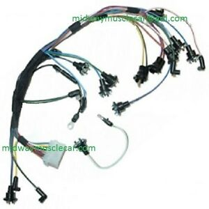 dash instrument cluster feed wiring harness 67 ford mustang with rh ebay com s2000 cluster wiring harness instrument cluster wiring harness diagram