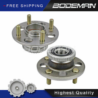 Bodeman Pair 5 W//ABS Rear Wheel Hub and Bearing Assembly for 2004 2005 2006 2007 2008 2009 2010 2011 2012 2013 Mazda 3 2