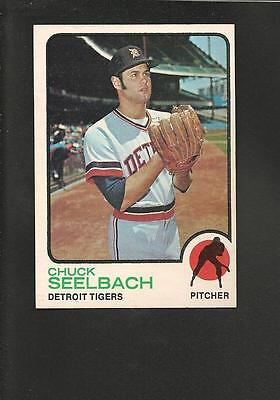 Glorious 1262 1973 Topps # 51 Chuck Seelbach Nm Crease-Resistance Sports Trading Cards Baseball Cards