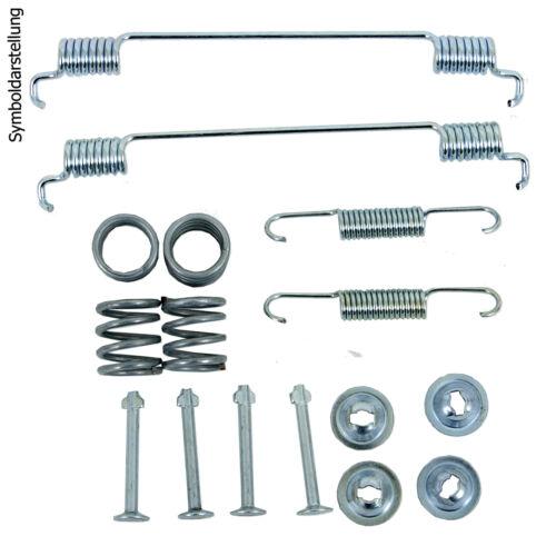 2 Bremszylinder für VW Polo 6N 2x Radlagersatz Bremsbacken 2 Bremstrommeln