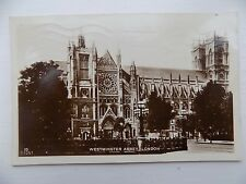 Old Postcard Westminster Abbey London 1927 Posted to Margate
