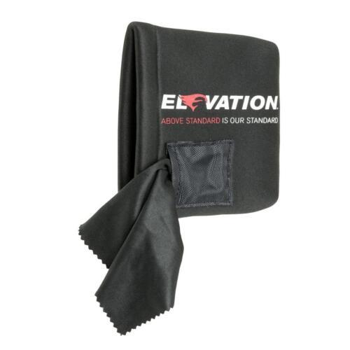 Élévation Pinnacle Scope cover noir avec lentille chiffon de nettoyage