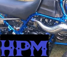 HPM Banshee 2 Ply High Temp Exhaust Clamps BLUE