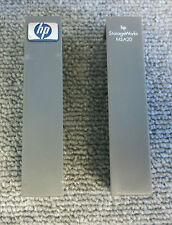 HP 359819-001 StorageWorks MSA20 Left And Right Grey Bezel Ears