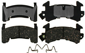 Disc Brake Pad Set-Semi Metallic Disc Brake Pad Rear,Front ACDelco Pro Brakes