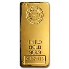 1 kilo (32.15 oz) Royal Canadian Mint Gold Bar .9999 Fine - SKU #43292