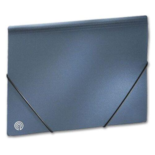 Ecobra 942119 Sammelmappe A4 blau-metallic Kunststoff