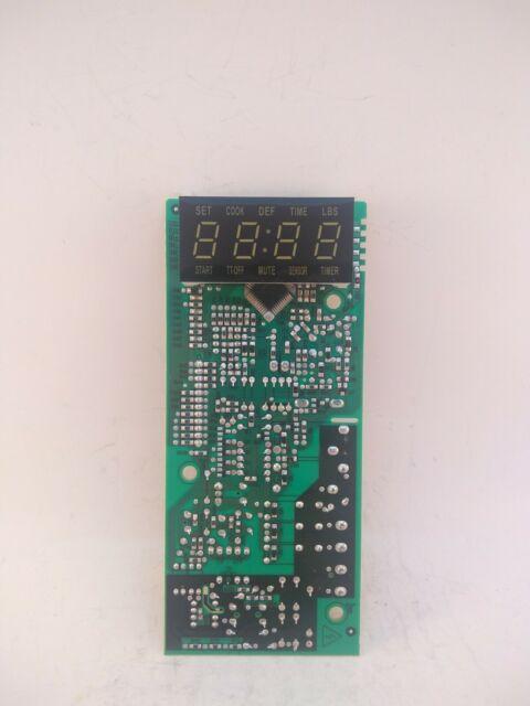 Emerson Mw8117w Microwave Main Logic
