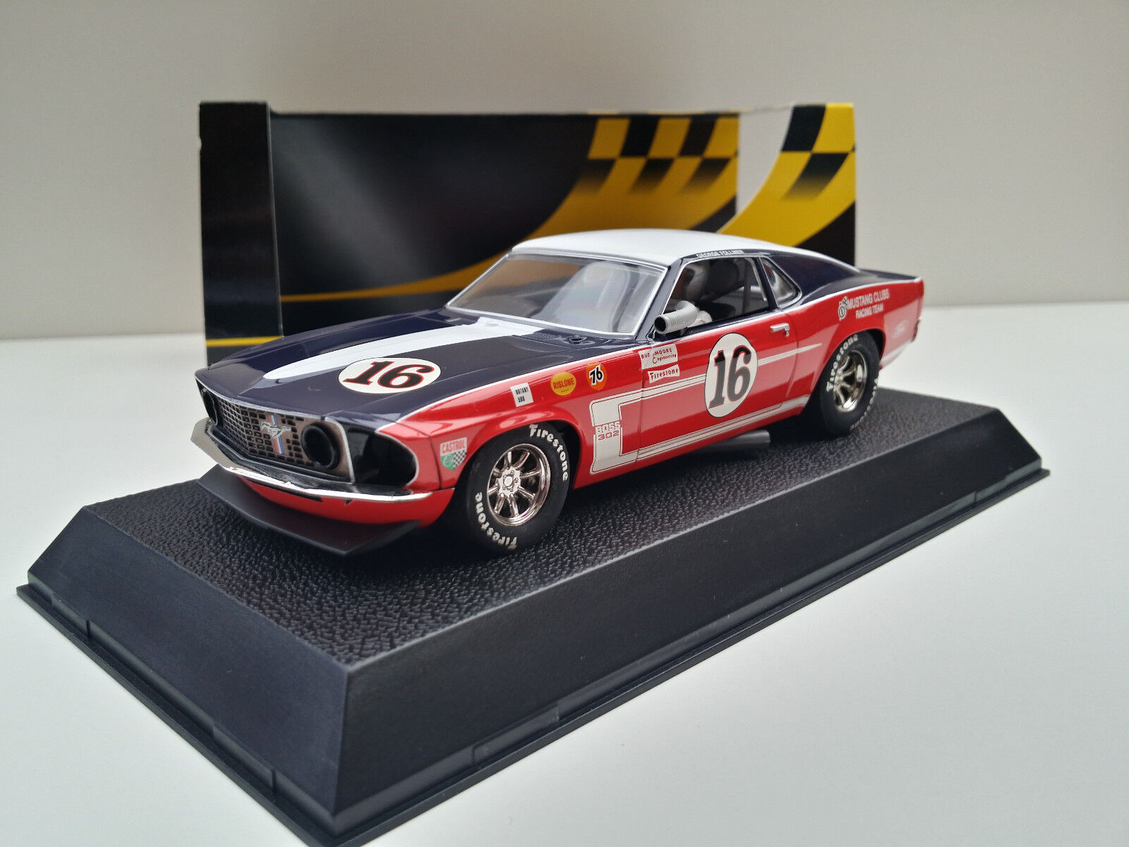 Slot SCX Scalextric Superslot H2402 Ford Mustang 2018 Nº16