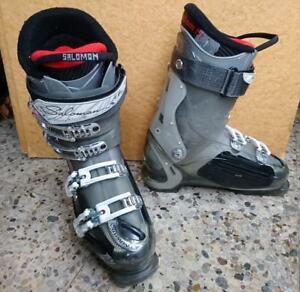 Details zu TOP Jugend Damen Skistiefel Skischuhe SALOMON INSTINCT CS MP 25,0 39 neuw WOW