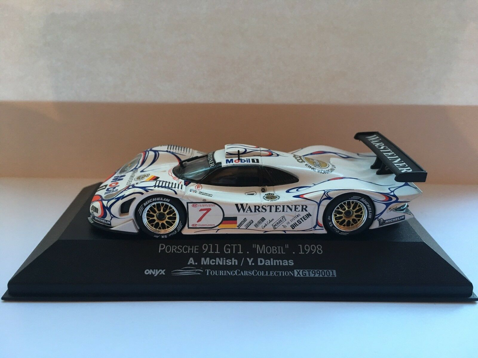 Porsche 911 GT1 Mobil 1998 XGT Vitesse Onyx 99001