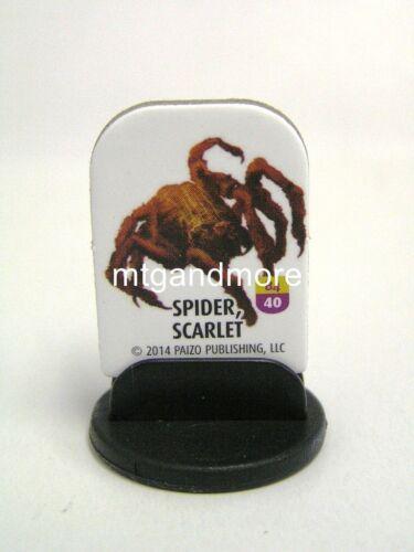 Bestiary Box 4 Pathfinder Battles Pawns // Tokens Scarlet #040 Spider