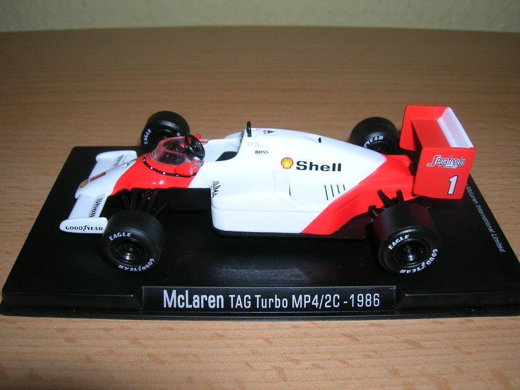 Rba Formule 1 Mclaren Jour Turbo MP4 2C Alain Prost 1986, 1 43