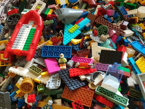 1000g Genuine Lego Bundle Mixed Parts Pieces Bricks Bulk starter set Preowned