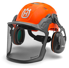 f077ee98 Husqvarna Technical Forest Helmet Lightweight Vented Professional ANSI  Chainsaw