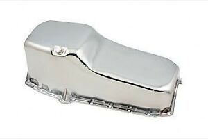 SBC-Chrome-350-283-400-Oil-Pan-Small-Block-Chevy-2pc-Rear-Main-Seal-Driver