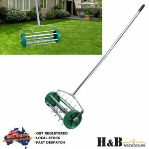 Rolling Lawn Scarifier Aerator Roller