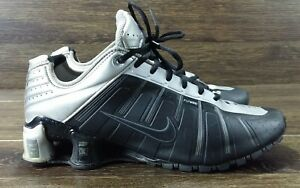 new style 89623 66df8 Image is loading Nike-Shox-O-039-Leven-Black-Grey-Mens-