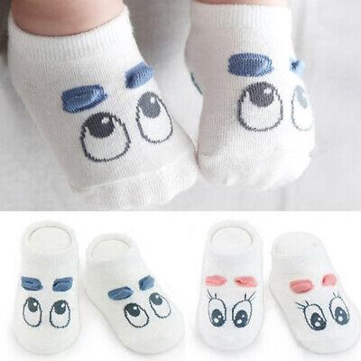 Baby Casual Socks Cotton Cute Cartoon Toddler Anti-slip Socks Suit For 0-2 Years