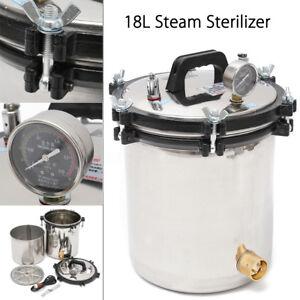 18L-Stainless-Steel-Pressure-Steam-Autoclave-Sterilizer-Equipment-Dual-Heating