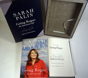 Sarah-Palin-Signed-Autograph-Going-Rogue-1st-1st-Limited-Edition-5000-Book-COA