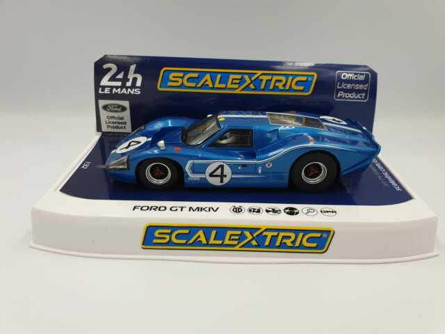 Scalextric 1:32 Ford GT MK IV 1967 Lemans 24h Denny Hulme/ Lloyd Ruby No.4 C4031