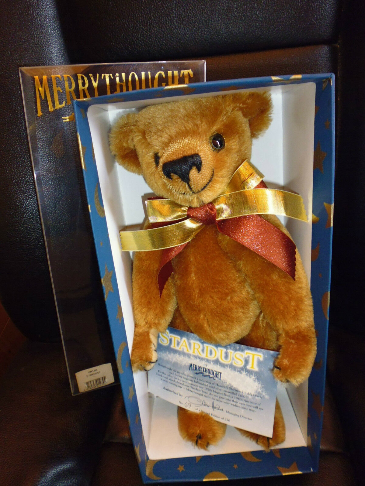 Merrythought on13b Stardust Teddy Bear Ltd 69 di 250 nuove 33 cm