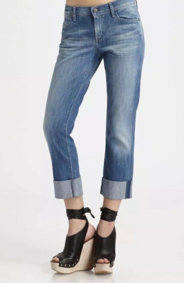 Citizens of Humanity Dani Cropped Straight Jeans Size 27