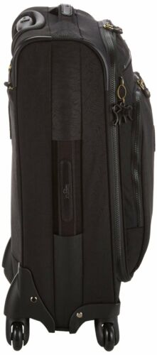Kipling Youri Spin 55 Spinner Trolley**Black Leaf**RRP £157**Cabin Luggage**
