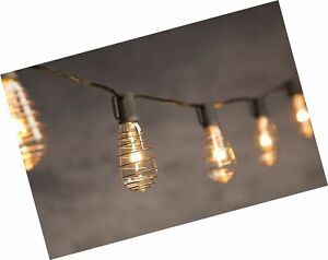Details About Cleveland Vintage Lighting String Lights With 10 Copper Plated Edison Bulbs
