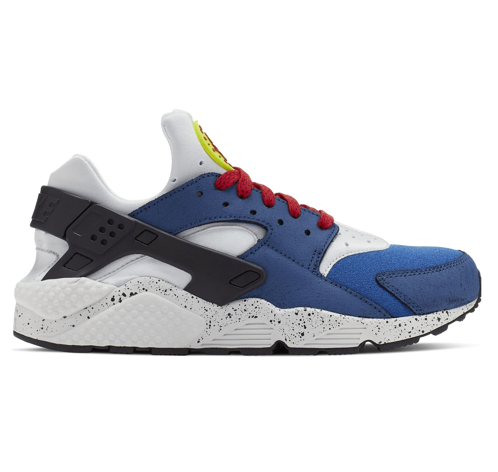 Nike Air Huarache Run Premium Mens 704830-404 Indigo Force Running shoes Size 10