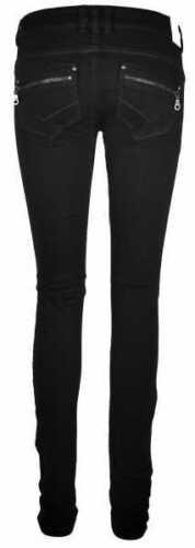 VERO MODA Damen Jeans Hose Strong LW Skinny Schwarze jeanshose NEU UVP 59 €