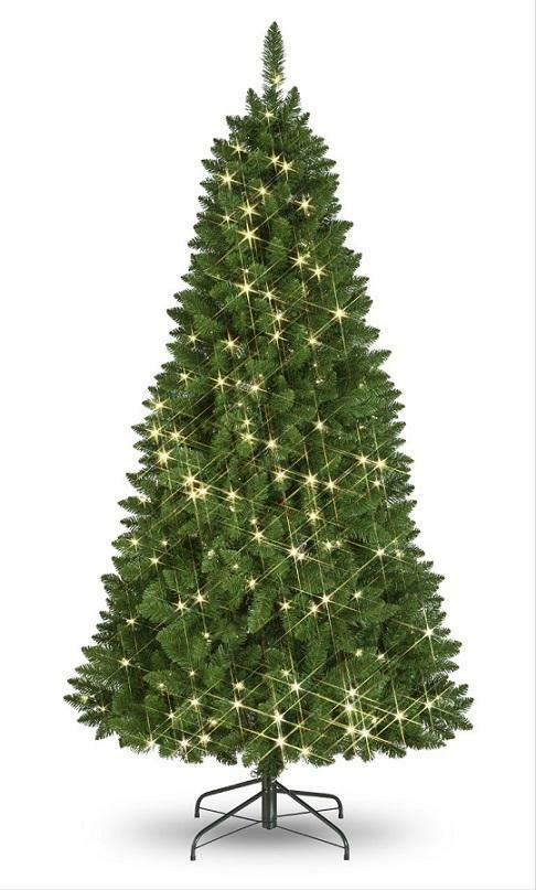 5ft Artificial Christmas Tree Pre-Lit Lexington Pine 388 Tips TO CLEAR
