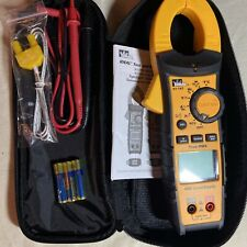 Ideal 61 747 Digital 400a Acdc 600v Trms Clamp Meter With Leads Amp Case