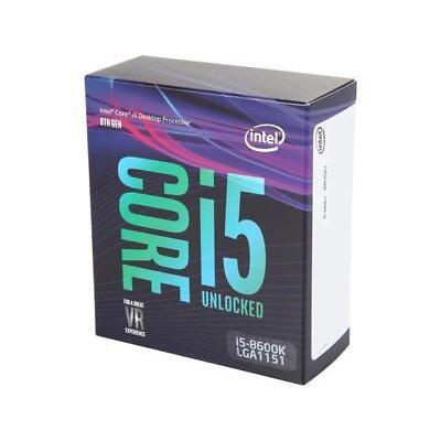 Intel Core i5-8600K Coffee Lake 6-Core 3.6 GHz (4.3 GHz Turbo) LGA 1151 (300 Ser