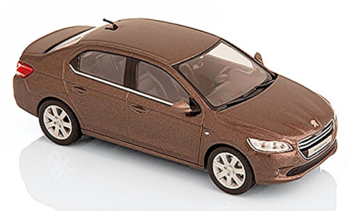 Peugeot 301 Limousine 2012-17 braun brun metallic Rich Oak 1:43 Norev