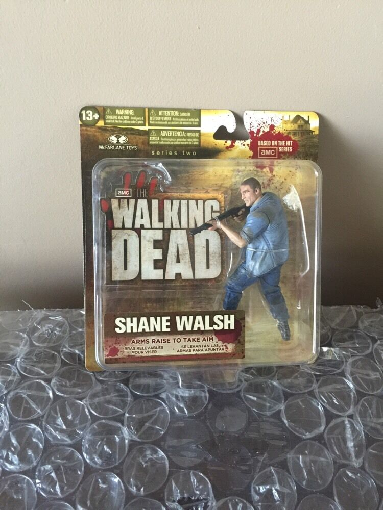 Mcfarlane spielzeug walking dead tv - serie 2 shane walsh akt action - figur