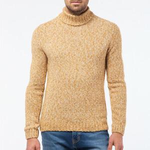 PIERRE CARDIN Herren Rollkragen Pullover modern fit