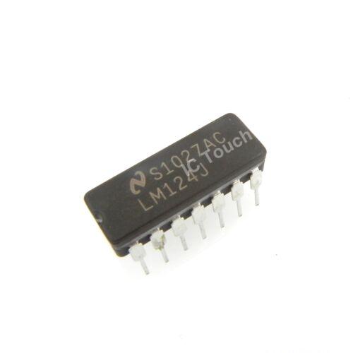 Details about  /50pcs LM124J IC Low Power Quad Operational Amplifiers National CDIP-14