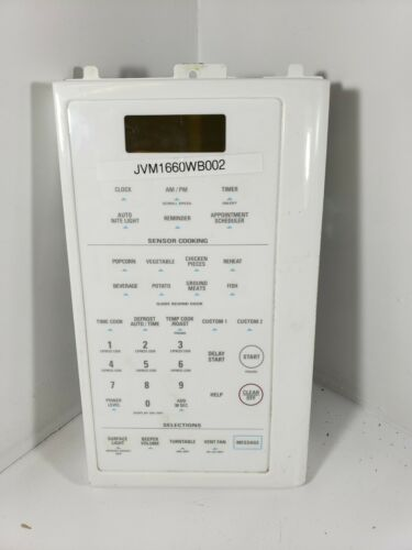 GE MICROWAVE CONTROL PANEL PART # WB27X10265