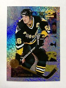 1995-96-PINNACLE-SUMMIT-ICE-118-MARIO-LEMIEUX-PITTSBURGH-PENGUINS-MINT