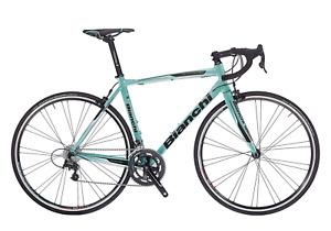 "Bianchi Via Nirone 7 Xenon 10v Compact Bicicletta da Corsa - 57"" (YNB32I1D)"