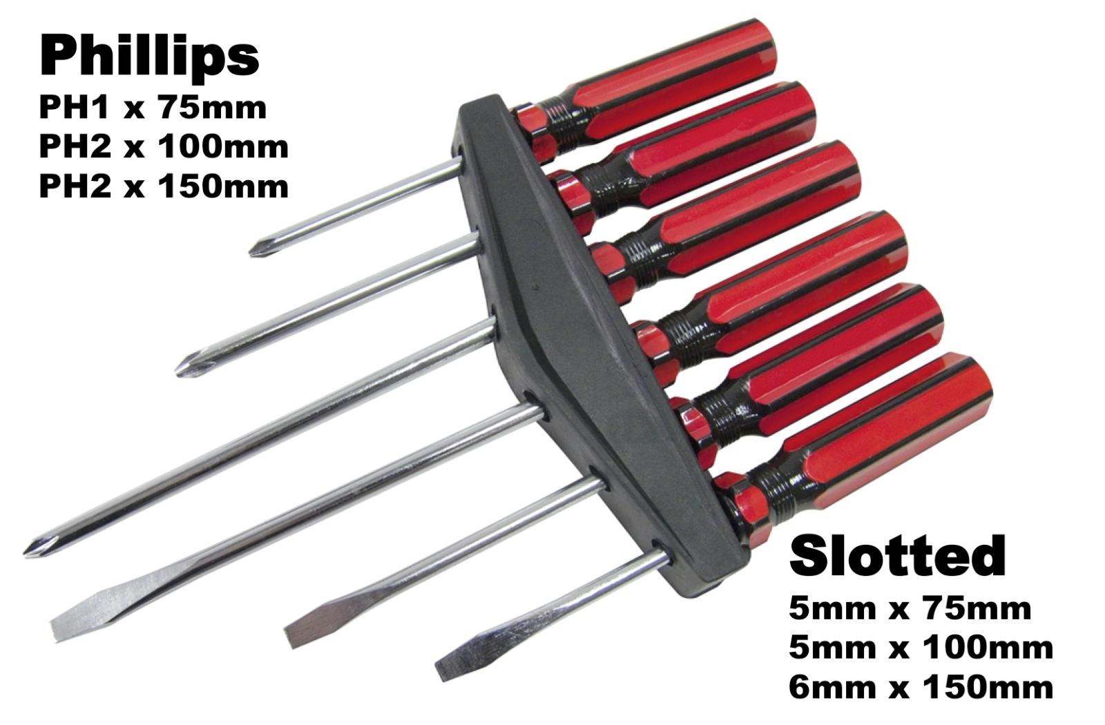 Stanley Tools FatMax Bolster Tournevis Évasée Embout 10 x 200 mm STA062621